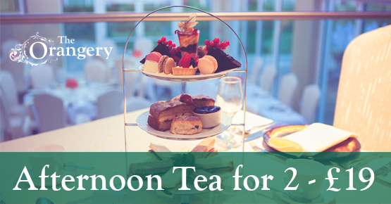 Afternoon Tea for 2 - £19