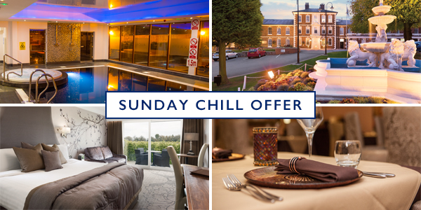 Sunday Night Chill only £145 per couple